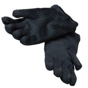Pair of gloves heat resistant up to 300°C black