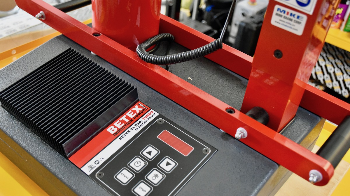 BETEX 24 RSDi Turbo induction heater. Made in Holland