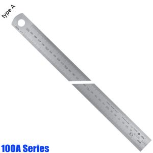 100A Series Stainless Steel Rules, with laser engraving type A