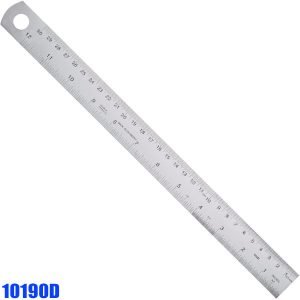 10190D Stainless Steel Rules type D, reading from right to left