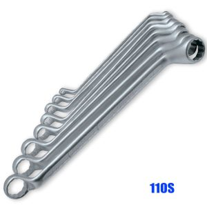 110S Series Double-ended ring spanner set, according to DIN 838