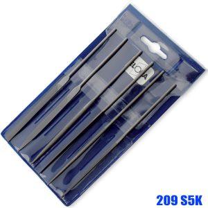 1347-S160  Needle file set 160mm. ELORA Germany