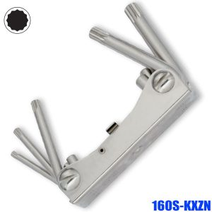 160S-KXZNOffset key set, for inside multi-point B&S and XZN screws