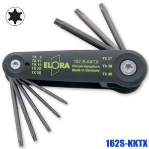 162S-KKTX Torx®-key set plastic holder with elevating mechanism