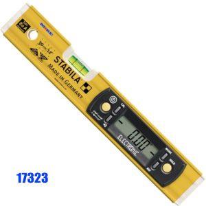 17323 Thước thủy điện tử đo độ dốc, nghiêng, chống nước IP54