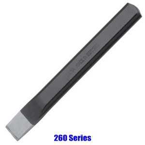 260 Series Flat Chisel, Flat Oval, according to DIN 6453, Elora Germany