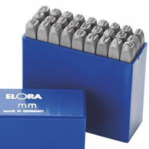 400B bộ đục chữ 27 ký tự từ A tới Z bằng thép hợp kim sản xuất tại Đức.