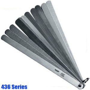 436 Series Piston Feeler Gauge Set, tolerance acc.to T2