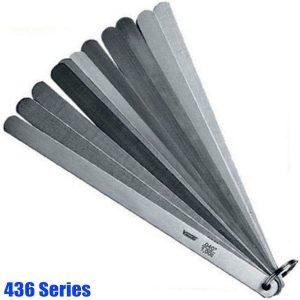 436 Series Piston Feeler Gauge Set, tolerance acc.to T2