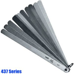 437 Series Piston Feeler Gauge Set, stainless steel, tolerance acc.to T2