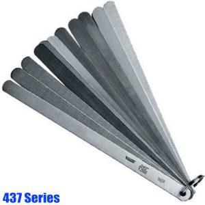 437 Series Piston Feeler Gauge Set, stainless steel, tolerance acc.to T2