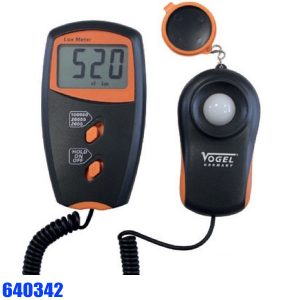 640342 Electr. Digital Luxmeter 1 - 100.000 Lux