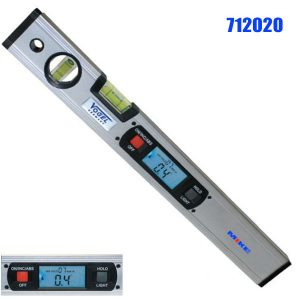 712020 Electr. Digital Light Alloy Spirit Level