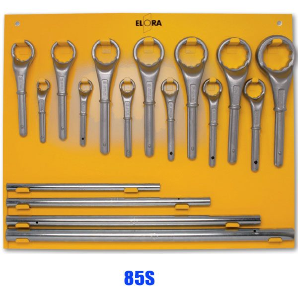 85S Series Construction ring spanner-set, according to DIN 475