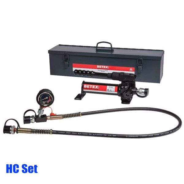 BETEX HC Set Hand pump set 700 bar