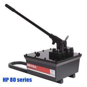 HP 80 series Steel hand pumps, heavy-duty, 8 liter, 700 bar