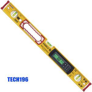 TECH196 Thước thủy điện tử chống nước, thang đo từ 40-183 cm