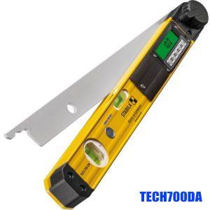 TECH700DA Thước đo góc điện tử, 2 bọt thủy, độ chính xác 0.029°