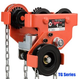 TG Geared trolley Tiger capacity 0.5-30 tons