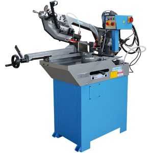 0273 metal band saw with manual and hydraulic feed
