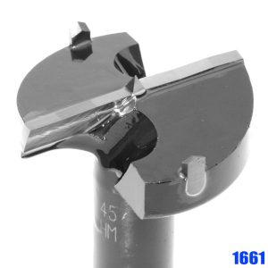 1661 TCT-Cylinder Boring Bit, long version. Further details in the speed diagram