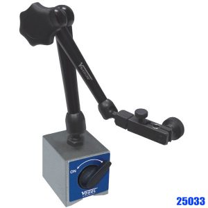 25033 Magnetic Measuring Stand, ball joints allow a fast and safe positioning