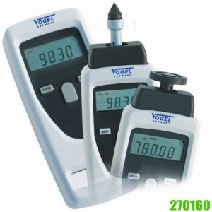 270160 Electr. Digital Hand Tachometer. VOGEL Germany