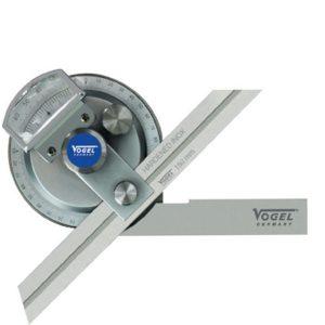 32012 Universal Bevel Protractor, angle graduation  1/12° = 5'