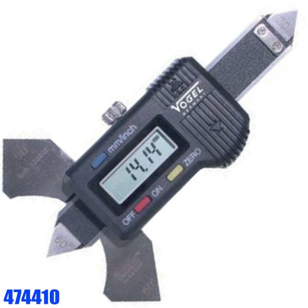 474410 Electr. Digital Welding Gauge, with data output RS 232 C