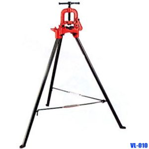 VL-010 Tri-stand pipe vises 2-3 inch. Capacity Outer Dia  63-90 mm