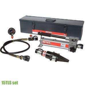 15TLS Set Hydraulic Spreader - Lifting wedges, 15 ton, pressure 700 bar