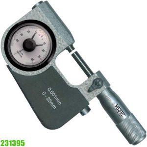 231395 PIndicator Snap Micrometer, reading in µm