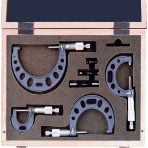 232001 External Micrometer Set 0-100mm, DIN 863