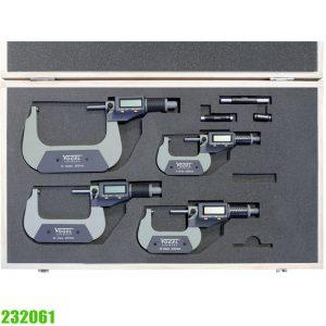 232061 Electr. Digital Micrometer Set, IP40 DIN 863