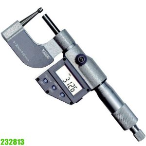 232813 Electr. Digital Micrometer, for measuring pipe wall thicknesses etc