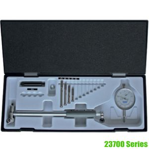 23700 Series Bore Gauge Set with Dial Indicator. Made in Germany