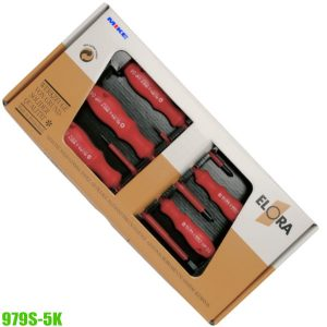 979S-5K vde screwdriver set 5 pcs ELORA Germany
