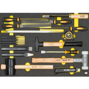 OMS-45 module files and hand striking tools, for ELORA-roller tool cabinets
