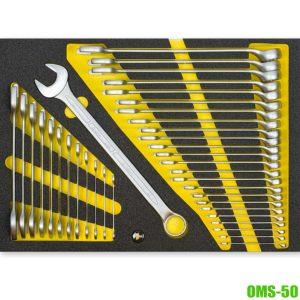 OMS-50 Bộ cờ lê vòng miệng, 2 đầu miệng từ 6-32mm ELORA Germany