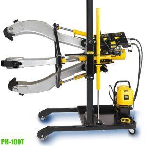 PH Series 100-Ton Hydraulic puller systems 2-jaw, 3-jaw . Posilock USA