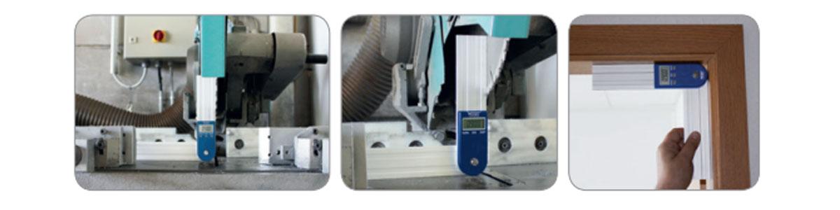 Ứng dụng của thước đo góc điện tử 32002 Series