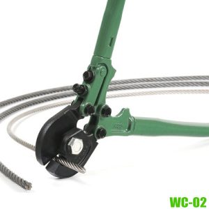 WC-02 WIRE ROPE CUTTERSsize 18-42 inch, Made in MCC Japan.