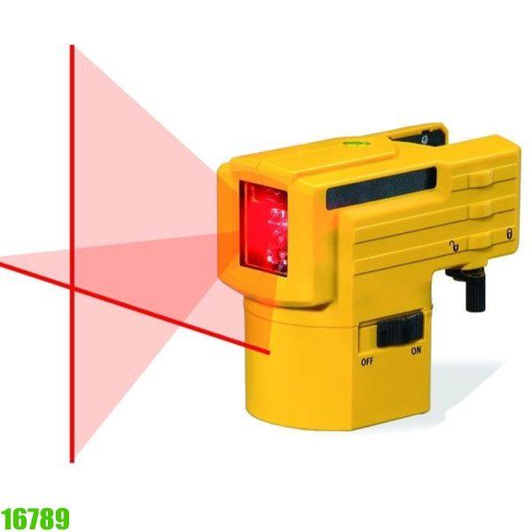 16789 Máy cân mức bằng tia laser, khoảng cách 10m, độ chính xác ± 0.5 mm/m