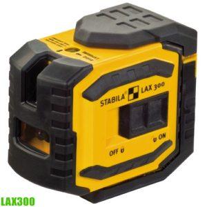LAX 300 cross line plus plumb point laser. Stabila Germany