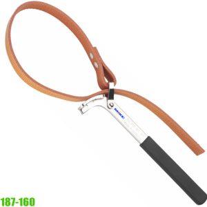 187-160 strap wrench, non-slip fibre ribbon, width 22 mm