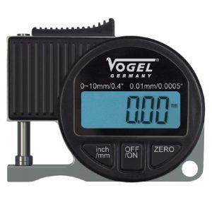 240408 Electr. Digital Thickness Gauge 0-10mm. Vogel Germany