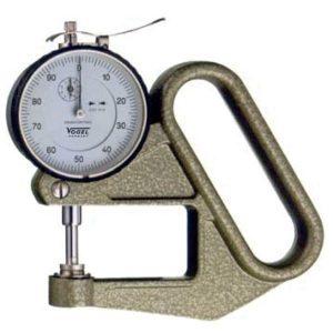 240411 Thickness Gauge 0-10 mm, type L, độ chính xác 0.01mm