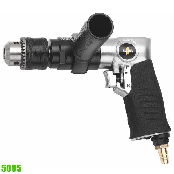 5005 pneumatic drill, reversible 13mm, 6.5 bar, 750 rpm
