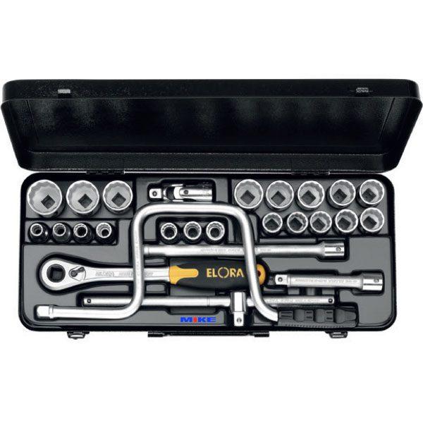 "770/771-LM Socket set 1/2"", 24 - 26 pcs. Elora Germany"