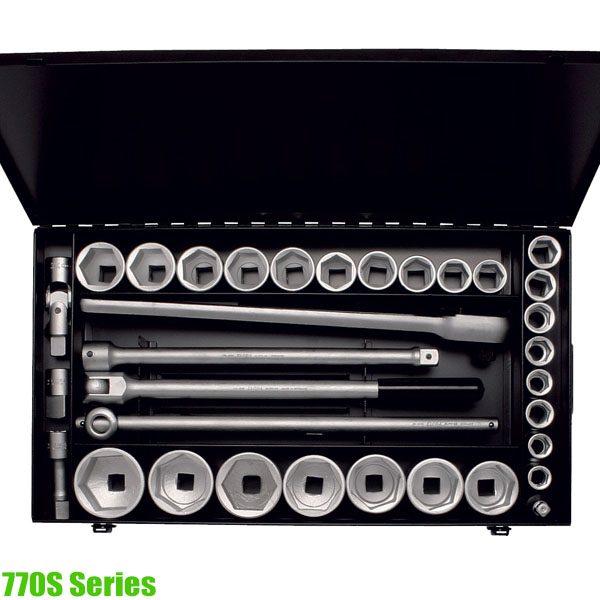 "770S Series Socket set 3/4"", 34 - 35 pcs"